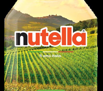 """Dalle Langhe parte """"Ti Amo Italia"""" by Nutella."""