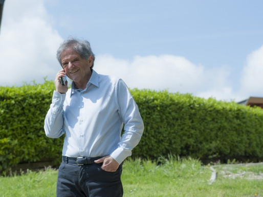 La filosofia di Donato Lanati del calice mezzo pieno