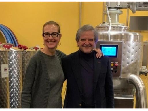 Lanati e Carole Bouquet insieme per innovare nell'enologia