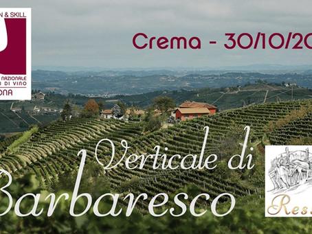 Verticale di Barbaresco Canova con ONAV Cremona