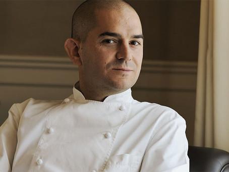 Lo chef Damiano Nigro al Palás Cerequio