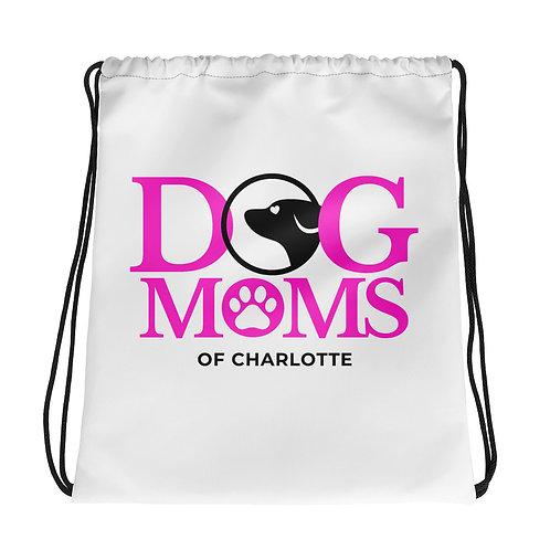 Dog Moms Charlotte Drawstring bag