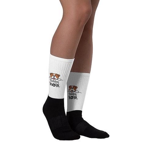 Bulldog Mom Socks