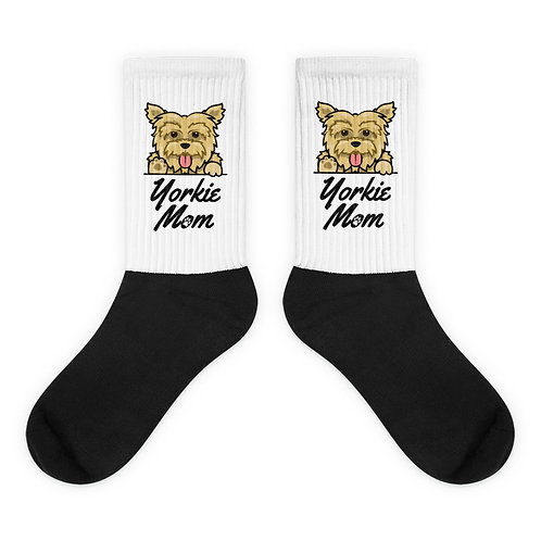 Yorkie Mom Socks