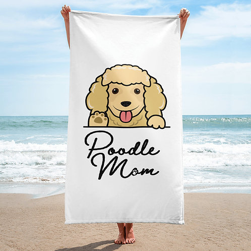 Poodle Mom Towel