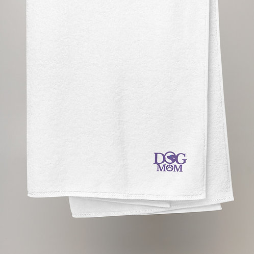 Dog Mom Turkish cotton towel