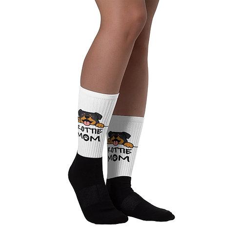 Rottie Mom Socks