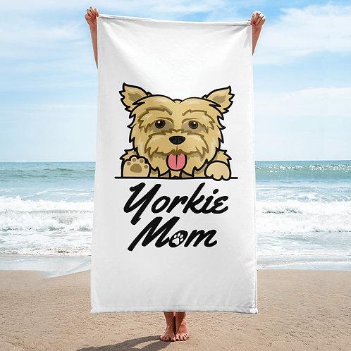 Yorkie Mom Towel