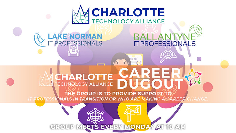 CLT Tech Alliance Dugout (Career Transition Support) - May 31