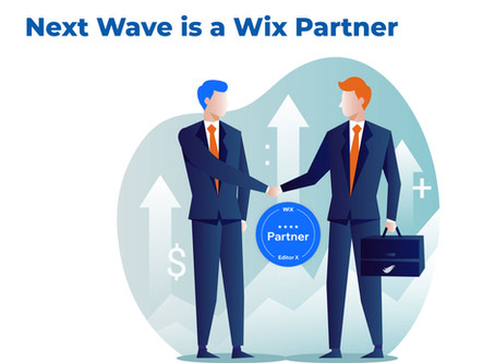 Next Wave is a Wix Partner