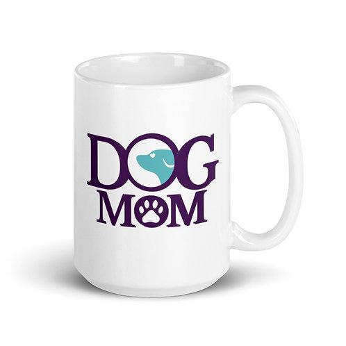 Dog Moms White Mug