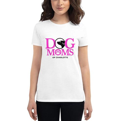 Dog Moms of CLT- Short sleeve t-shirt