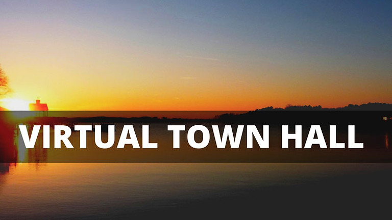 Virtual Town Hall  - Oct 7
