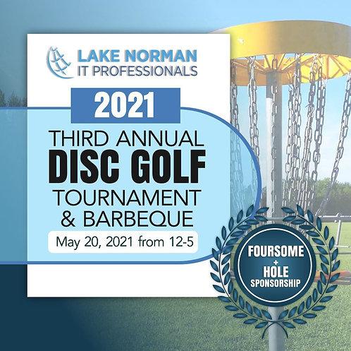 2021 Disc Golf Foursome + Hole Sponsorship