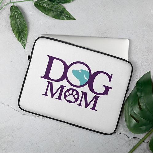 Dog Mom Laptop Sleeve