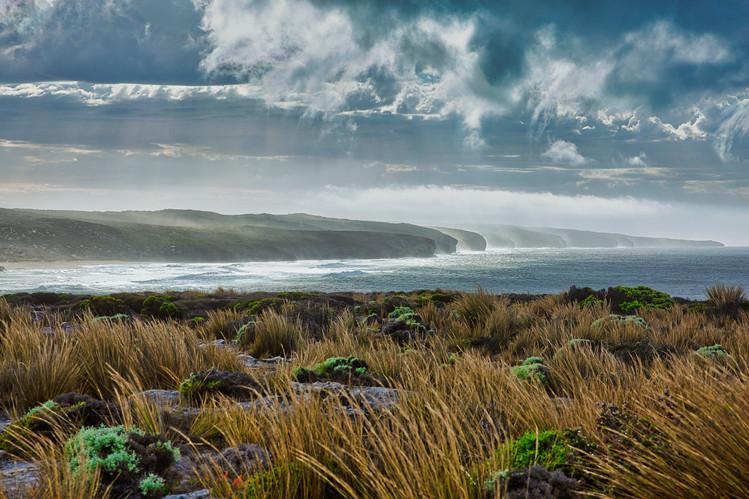 Hanson Bay Storm Clouds