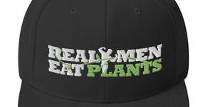 Real Men Eat Plants Black Hat