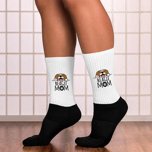 Beagle Mom Socks