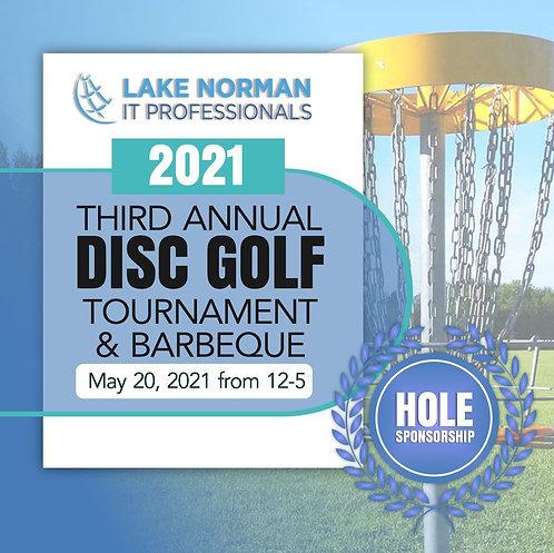 2021 Disc Golf Hole Sponsorship