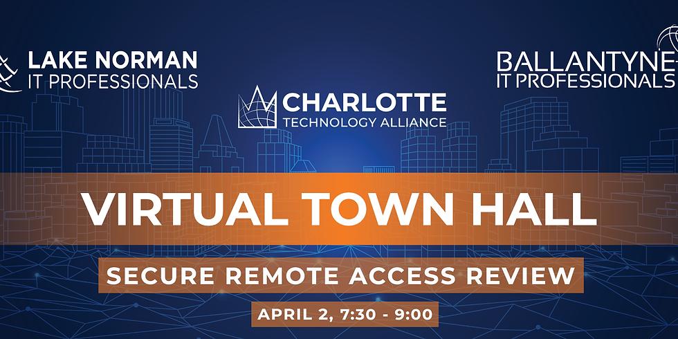 Virtual Town Hall - April 2