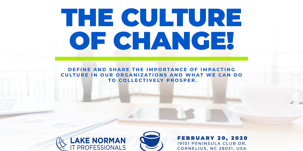 Panel Breakfast 2020: The Culture of Change!