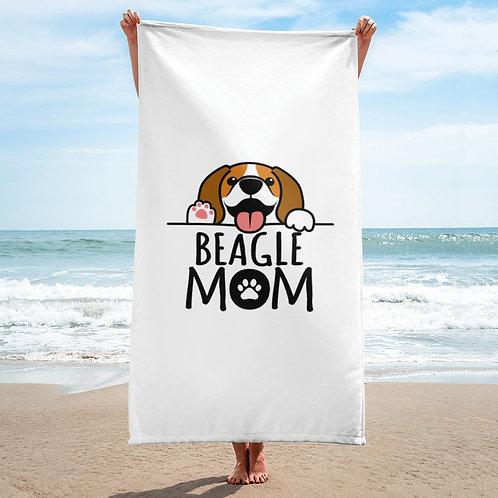 Beagle Mom Towel