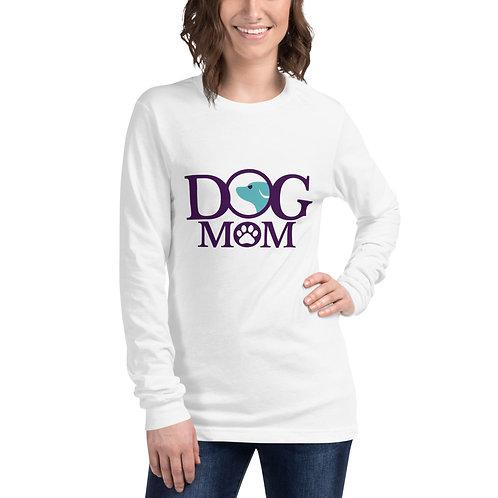 Dog Mom Long Sleeve Tee