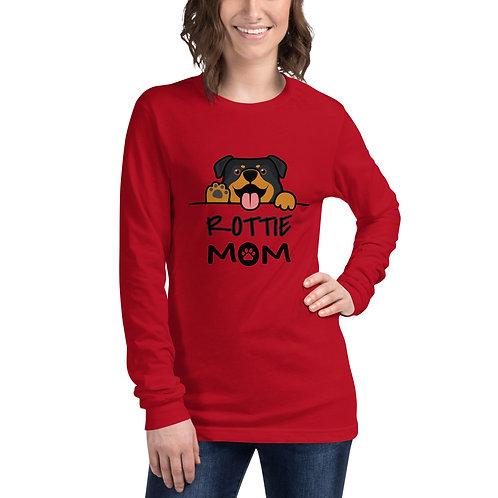 Rottie Mom- Long Sleeve Tee