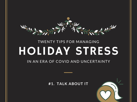 Holiday Stress Management Guidebook