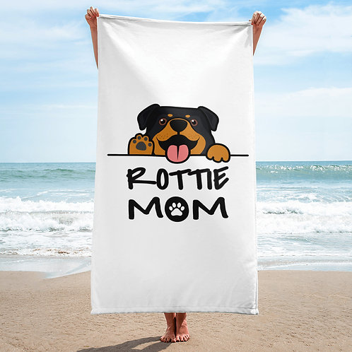Rottie Mom Towel