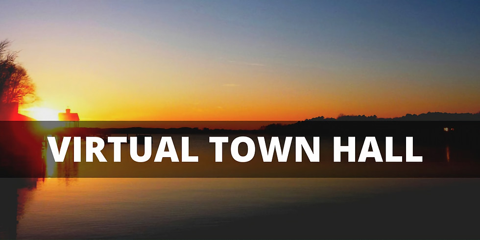 Virtual Town Hall  - Jul 1