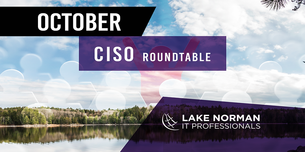 IT Security Breakfast of Lake Norman - October