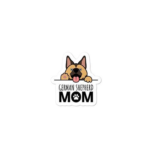 Shepherd Mom Bubble-free stickers