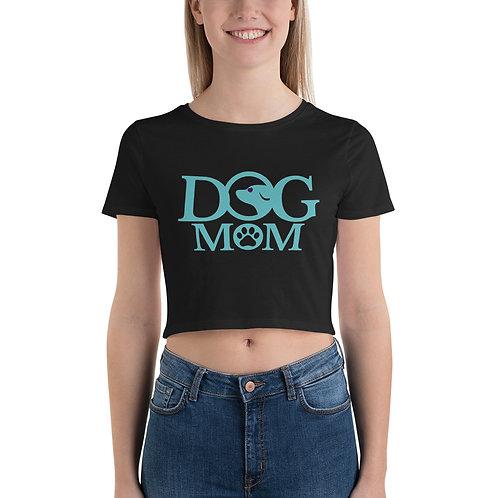 Dog Mom Women's Crop Tee