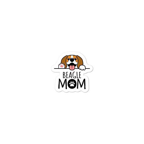 Beagle Bubble-free stickers
