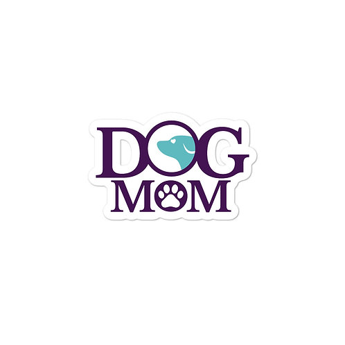 Dog Mom Bubble-free stickers