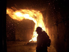 Fire training burn