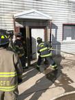 Burn building training