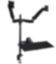 Gadget 11- Mount-It Sit-Stand Dest Mount