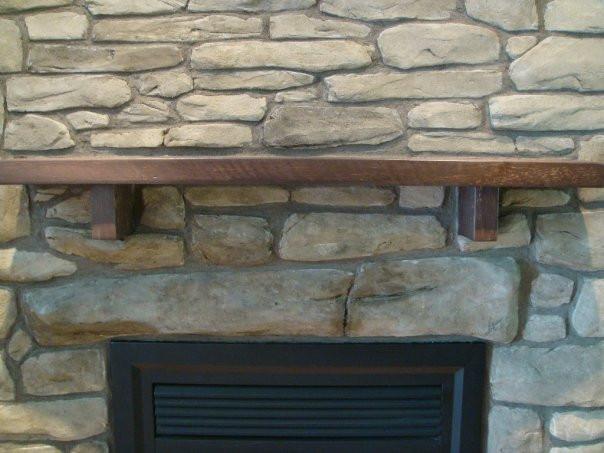 Fini de mur en pierre pour foyer | Fini mureaux de Yan Pigeon 4