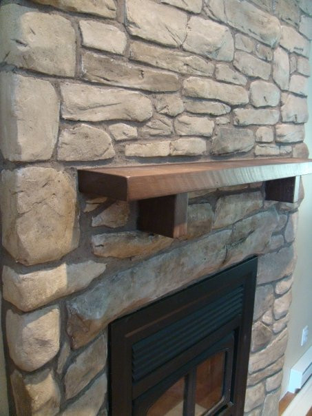 Fini de mur en pierre pour foyer | Fini mureaux de Yan Pigeon 2