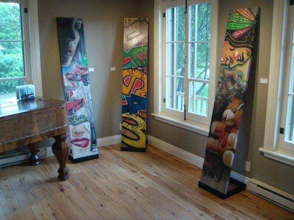 Peinture en acrylique sur toile - Exposition de Yan Pigeon artiste et peintre québécois 5