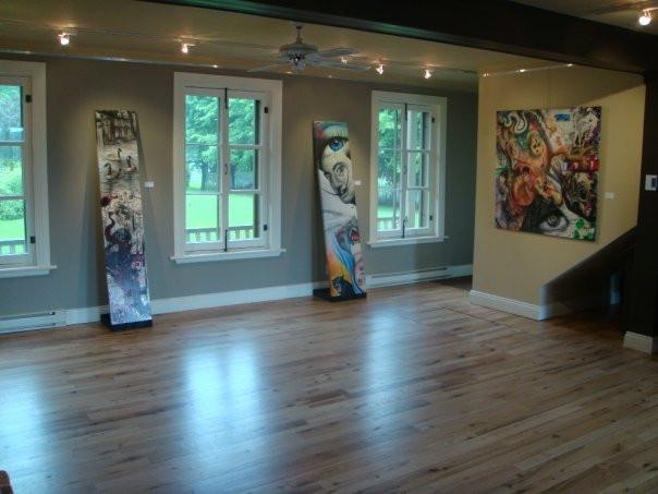 Peinture en acrylique sur toile - Exposition de Yan Pigeon artiste et peintre québécois 6