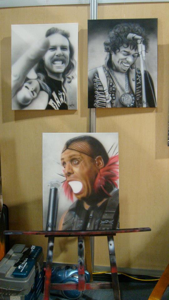 Peinture sur toile en acrylique | Yan Pigeon artiste et peintre à Québec