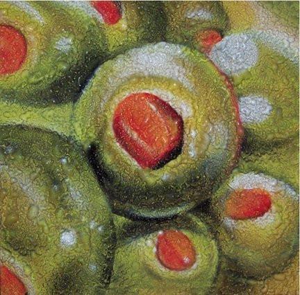 Peinture d'olives | Yan Pigeon artiste peintre québécois