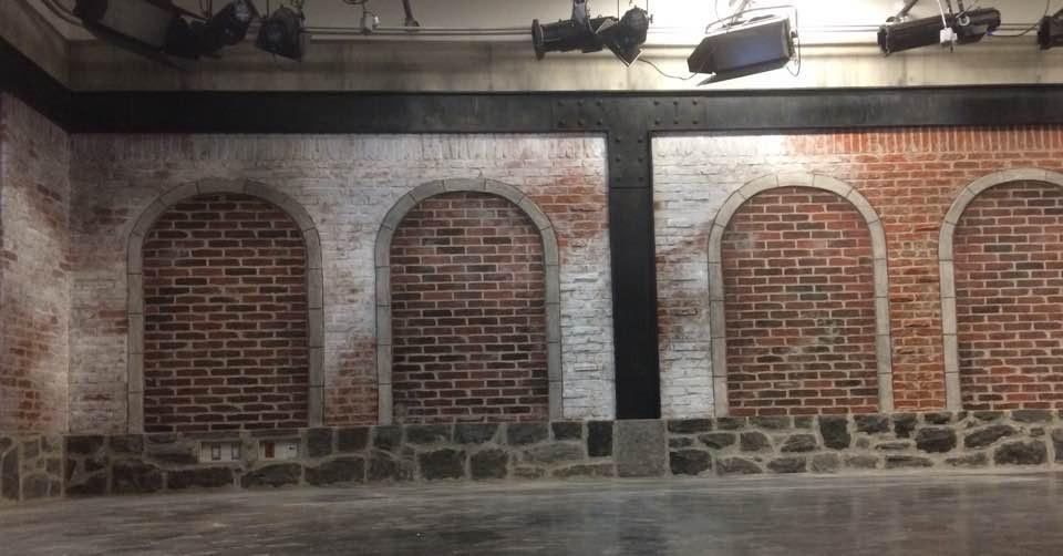 Fini mureaux en pierre et briques | Yan Pigeon | Artiste peintre Québec
