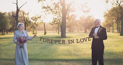 Album photo mariage | Ce couple attend 70 ans pour avoir ses photos de mariage.