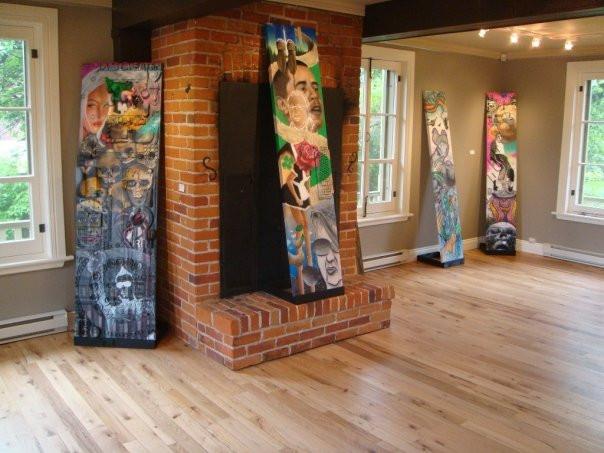 Peinture en acrylique sur toile - Exposition de Yan Pigeon artiste et peintre québécois 7