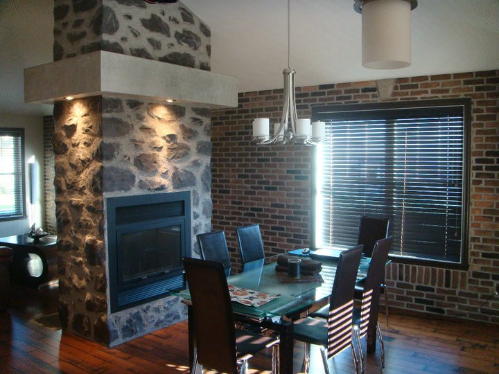 Fini de mur en pierre | Deco de mur pour salon | Yan Pigeon