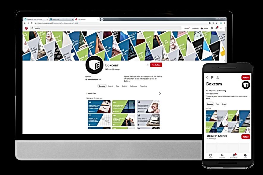 Marketing social - Boxcom, stratégie réseaux sociaux à Québec